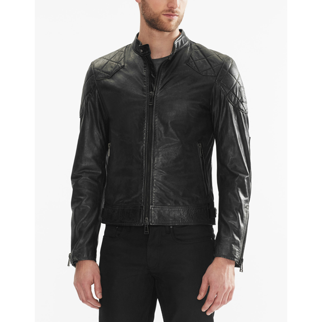 Men Belstaff THE OUTLAW JACKET BLACK Outlet Online