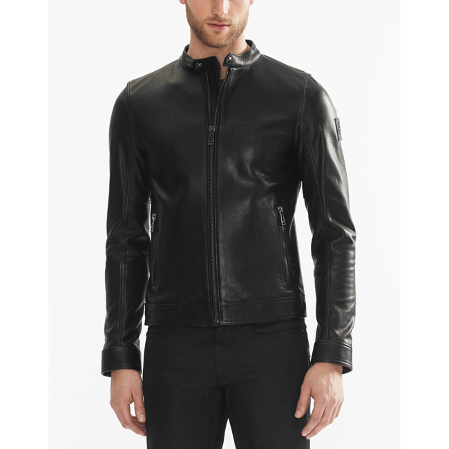 Men Belstaff NEW GRANSDEN JACKET  BLACK Outlet Online