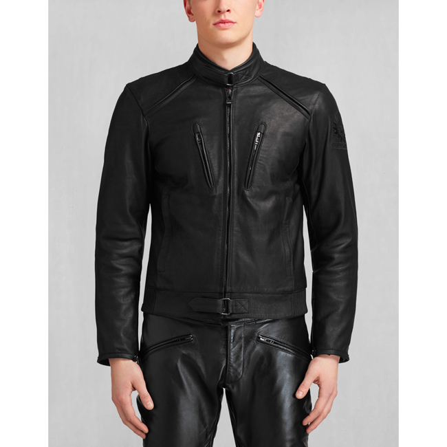 Men Belstaff LAVANT BLOUSON BLACK Outlet Online