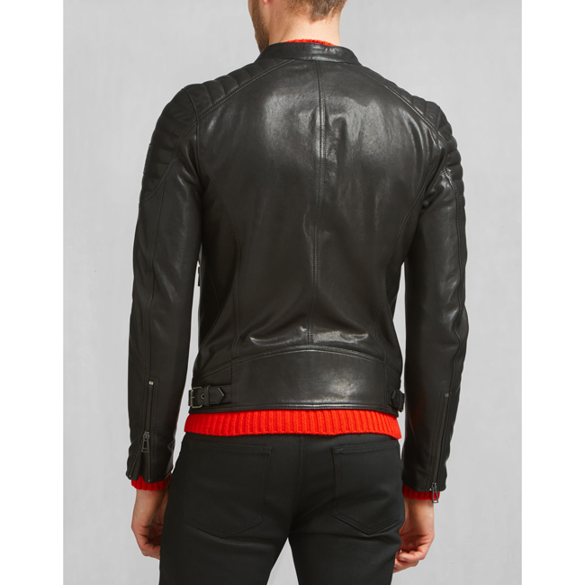 Men Belstaff STONEHAM JACKET BLACK Outlet Online