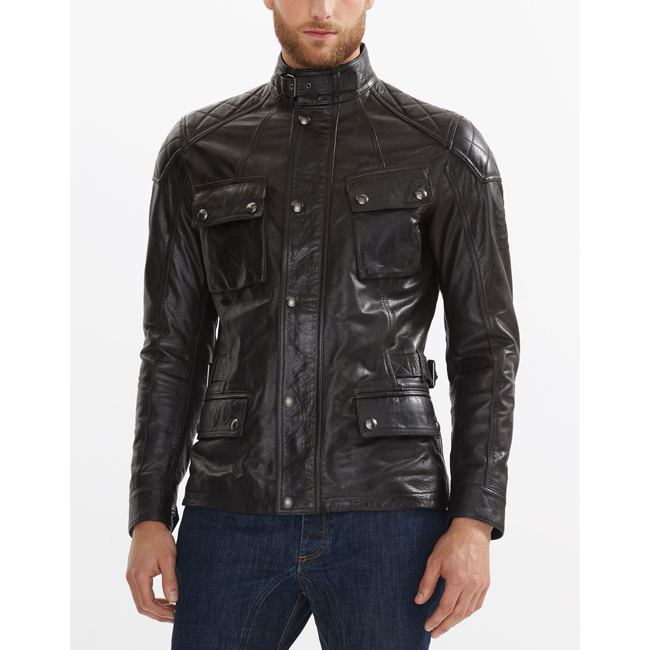 Men Belstaff TURNER JACKET ANTIQUE BLACK Outlet Online