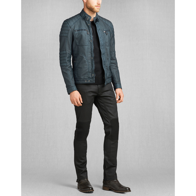 Men Belstaff WEYBRIDGE JACKET DENIM BLUE Outlet Online