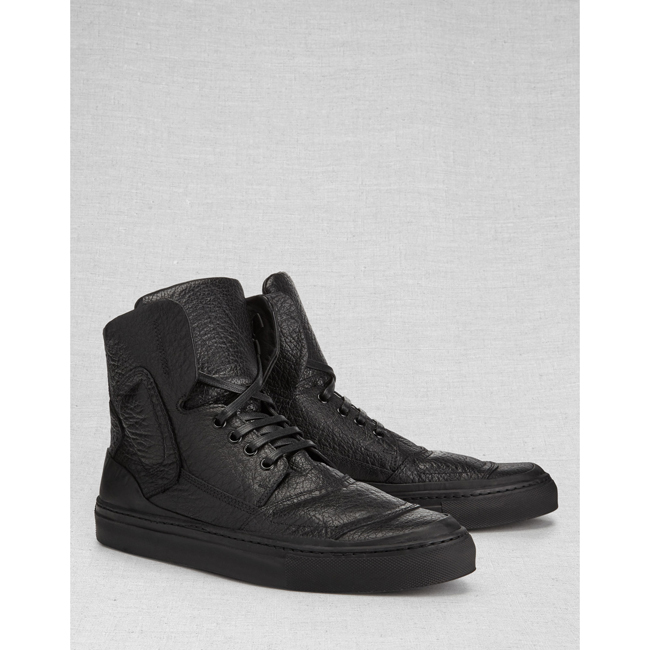 Men Belstaff  ROMFORD SNEAKERS  BLACK Outlet Online