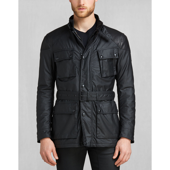 Men Belstaff SPEEDMASTER 2016 JACKET BLACK Outlet Online