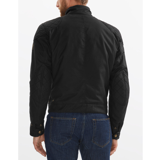 Men Belstaff BROOKLANDS BLOUSON BLACK Outlet Online