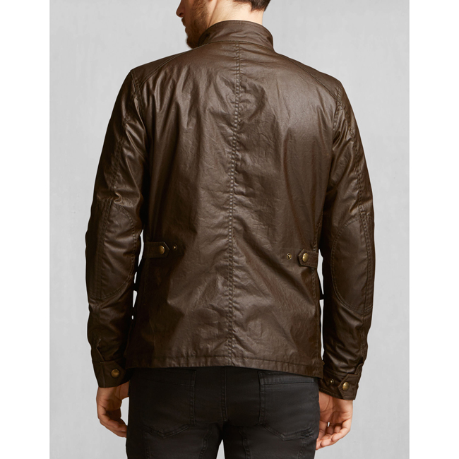 Men Belstaff TOURMASTER JACKET FADED OLIVE Outlet Online