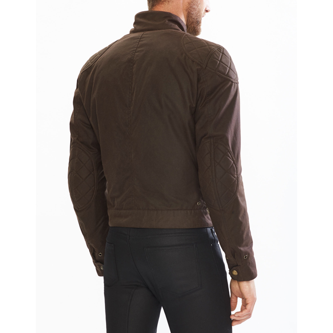 Men Belstaff BROOKLANDS BLOUSON MAHOGANY Outlet Online