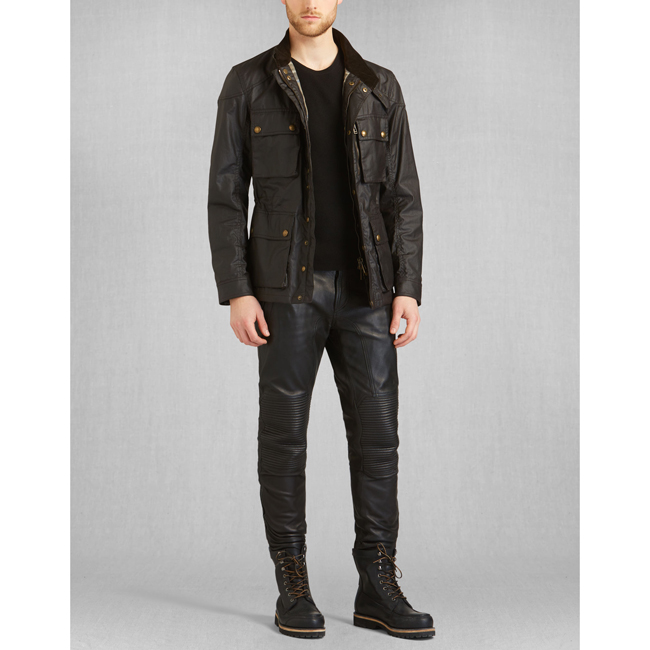 Men Belstaff TRIALMASTER JACKET MAHOGANY Outlet Online