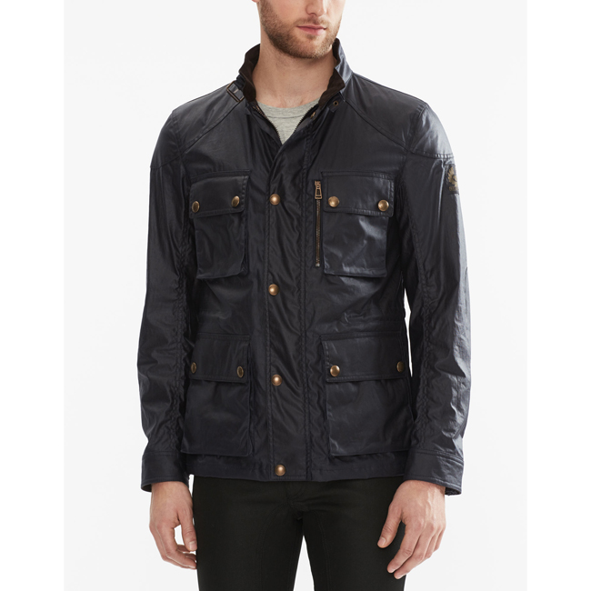 Men Belstaff TRIALMASTER JACKET DARK NAVY Outlet Online