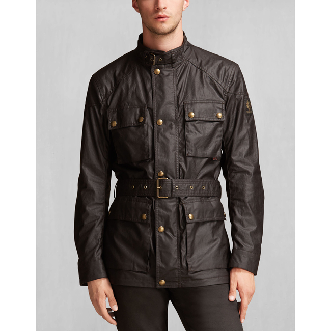 Men Belstaff THE ROADMASTER JACKET MAHOGANY Outlet Online