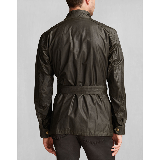Men Belstaff THE ROADMASTER JACKET FADED OLIVE Outlet Online