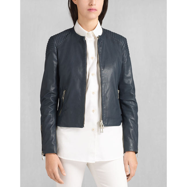 Women Belstaff ENGEL BLOUSON  NAVY Outlet Online