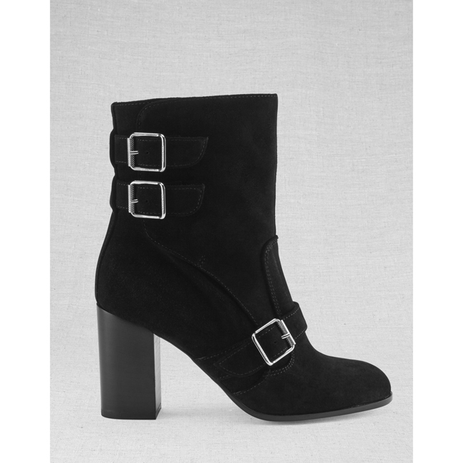 Women Belstaff BEDLINGTON BOOTS BLACK Outlet Online