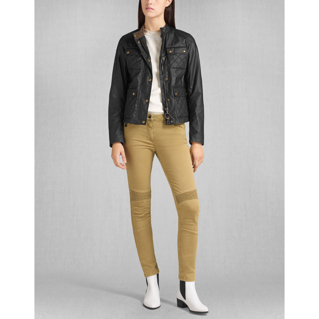 Women Belstaff PATHMASTER BLOUSON BLACK Outlet Online