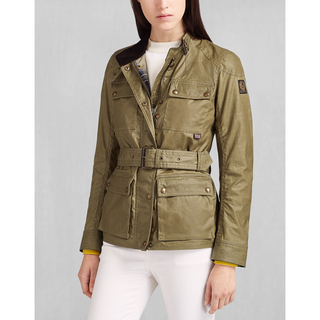 Women Belstaff ROADMASTER JACKET CAPERS Outlet Online