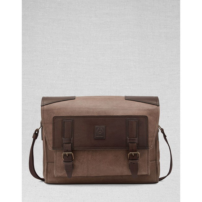 Men Belstaff CITYMASTERESSENGER BAG  ASH Outlet Online