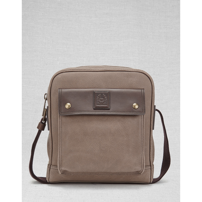 Men Belstaff CITYMASTER CROSSBODY BAG  ASH Outlet Online