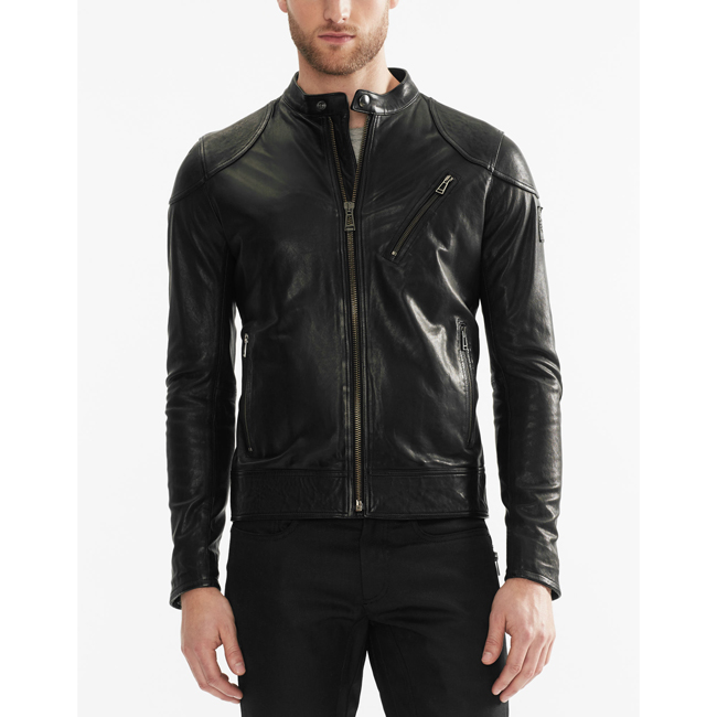 Men Belstaff MAXFORD BLOUSON JACKET BLACK Outlet Online