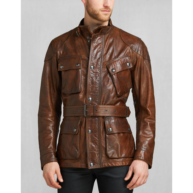 Men Belstaff THE PANTHER JACKET   COGNAC Outlet Online