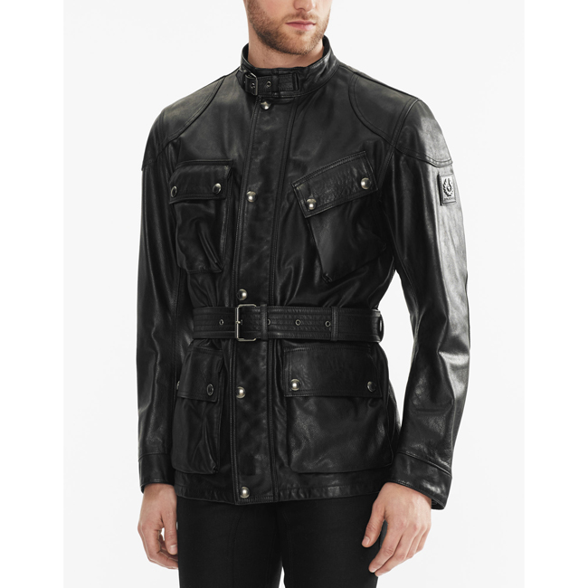 Men Belstaff THE PANTHER JACKET BLACK Outlet Online