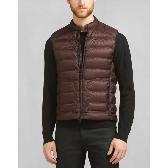 Men Belstaff HARBURY VEST PORT Outlet Online
