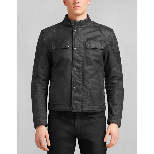 Men Belstaff GLEN VINE BLOUSON BURNISHED BROWN Outlet Online