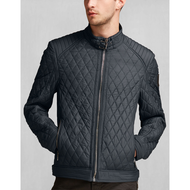 Men Belstaff BRAMLEY JACKET DARK NAVY Outlet Online