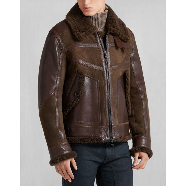 Men Belstaff SOUTHBOROUGH BLOUSON BARK Outlet Online