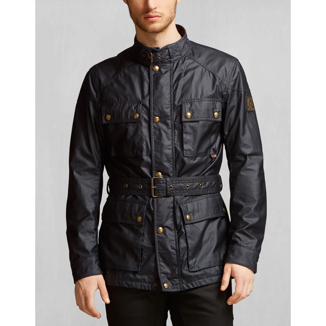 1effe8c77f Men Belstaff THE ROADMASTER JACKET DARK NAVY Outlet Online