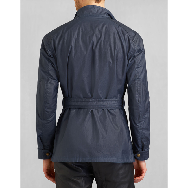 Men Belstaff THE ROADMASTER JACKET NAVY BLUE Outlet Online
