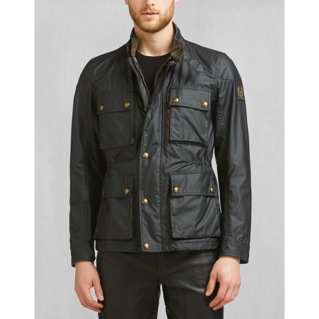 Men Belstaff TRIALMASTER JACKET BLACK Outlet Online