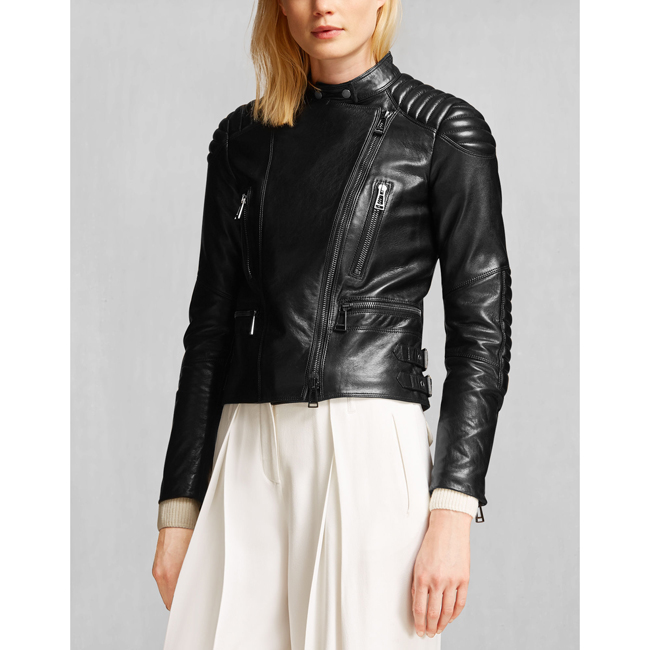 Women Belstaff SIDNEY JACKET BLACK Outlet Online