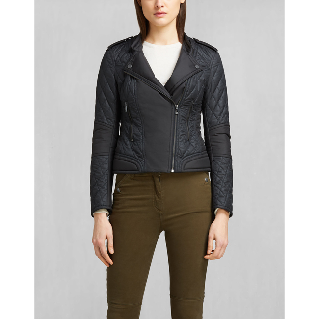 Women Belstaff ENDURO CAFÉ RACER JACKET BLACK Outlet Online