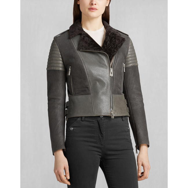 Women Belstaff ELLSWORTH BLOUSON CHARCOAL Outlet Online