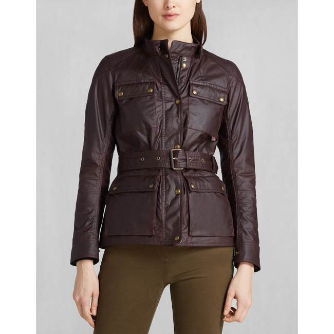 Women Belstaff ROADMASTER JACKET ROSEWOOD Outlet Online